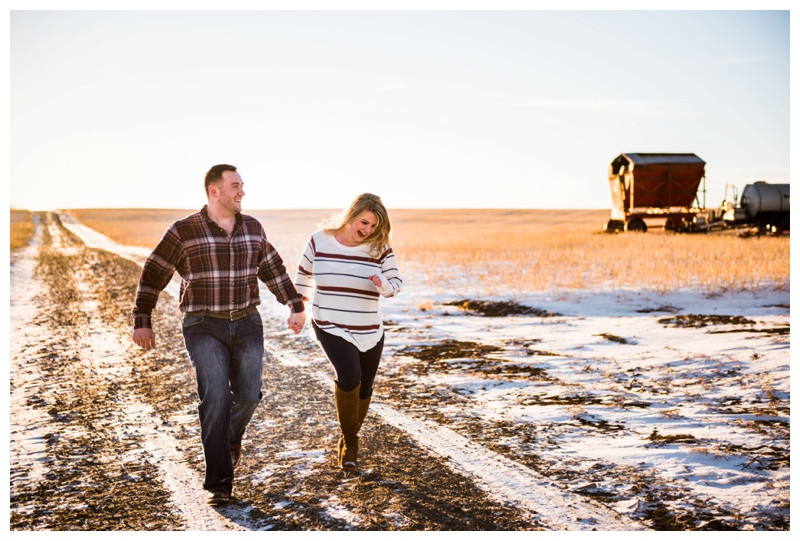 Country Engagement Photography Cochrane Alberta
