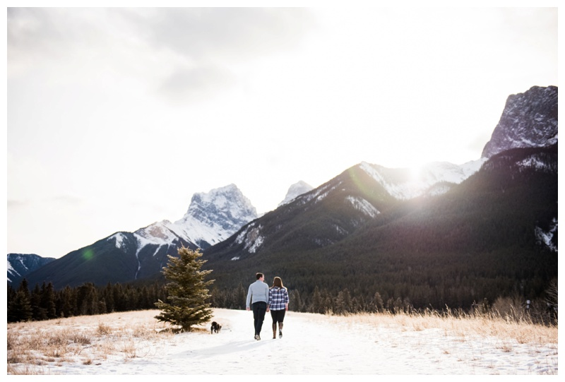 Engagement Photographer Canmore Alberta