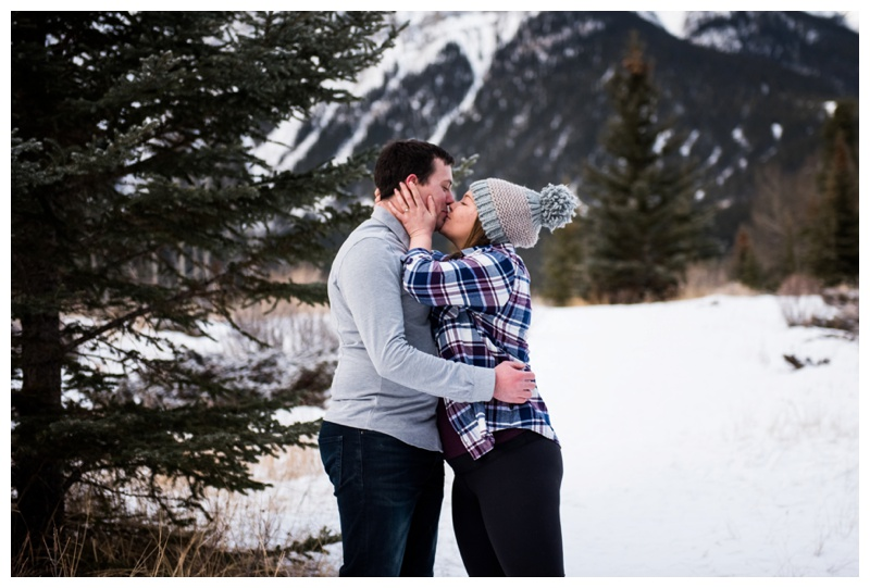 Rocky Mountain Wedding Proposal Canmore