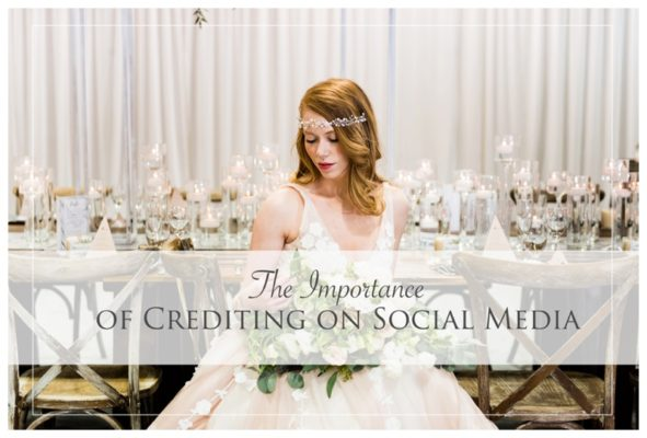 The Importance of Crediting on Social Media | Calgary Wedding Photographer