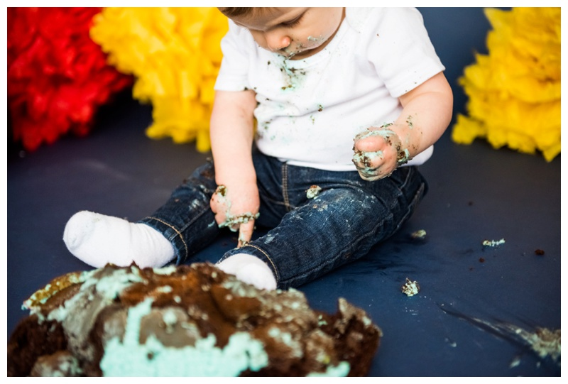 1st birthday Cake Smash Calgary