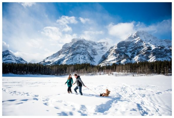Wedge Pond Maternity Session | Canmore Maternity Photographer