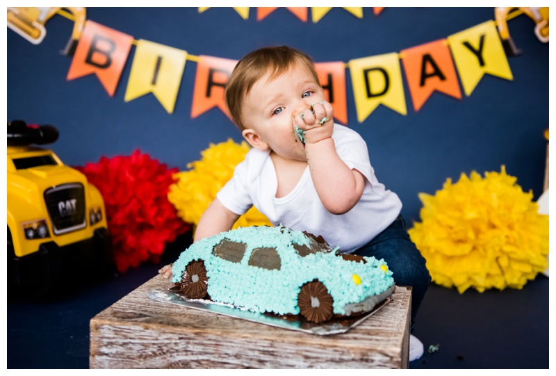 First Birthday Cake Smash - Calgary Alberta