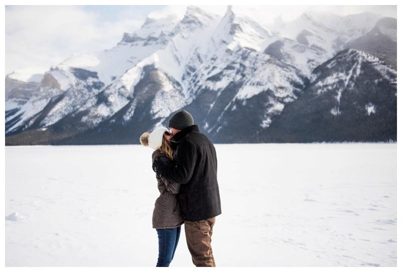 Banff Alberta Proposal Photography