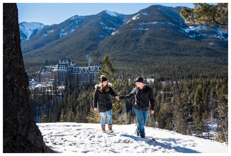 Banff Marriage Proposal Photographer