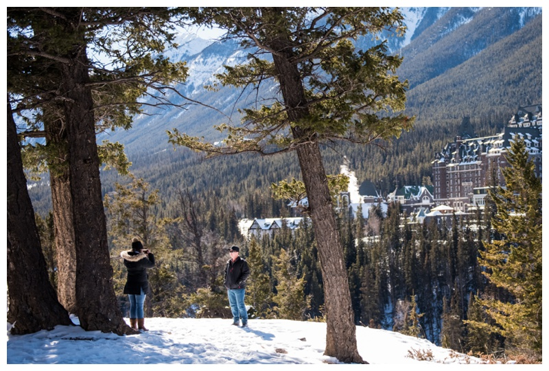 Banff Springs Marriage Proposal