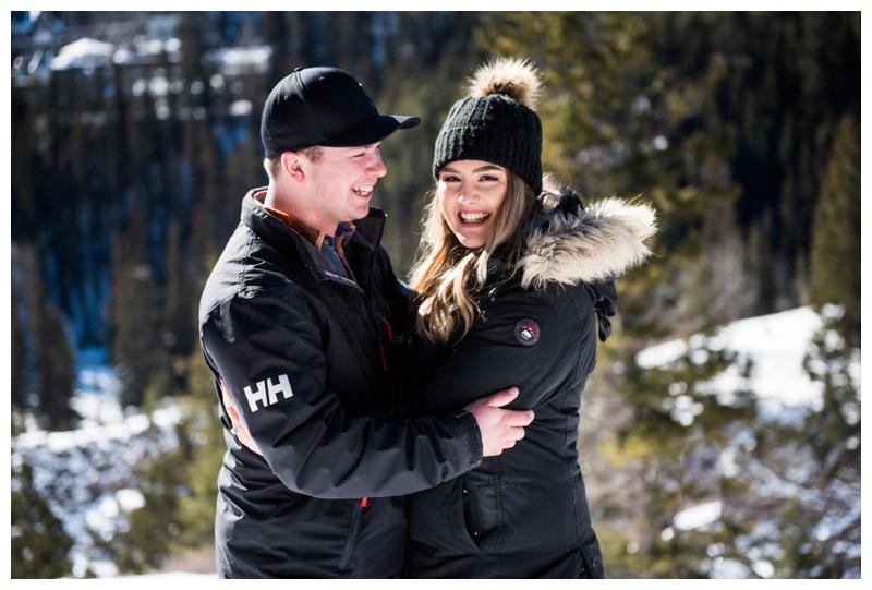 Banff Wedding Proposal Photogapher