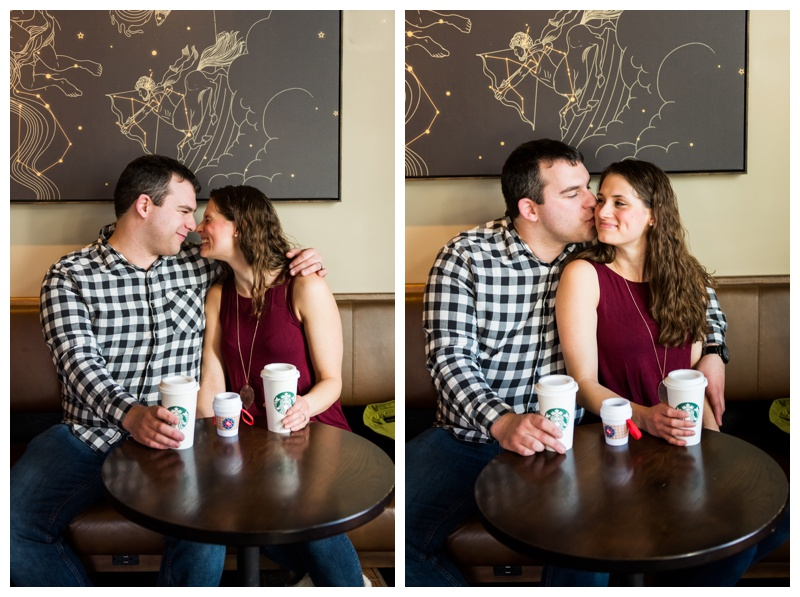 Calgary Baby Announcement Photography Session