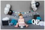 Calgary 1st Birthday Cake Smash Session | Remy is ONE! | Calgary Cake Smash Photographer