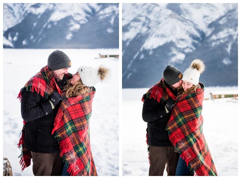 Marriage Proposal Photographer Banff Alberta