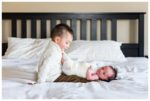 At Home Lifestyle Newborn Photo Session | Baby Mateo | Calgary Newborn Photographer