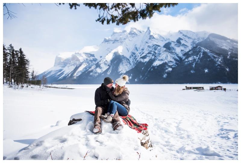 Wedding Proposal Photographer Banff Alberta