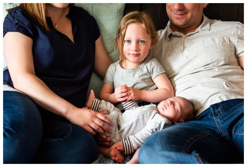 Calgary At Home Newborn Photographers