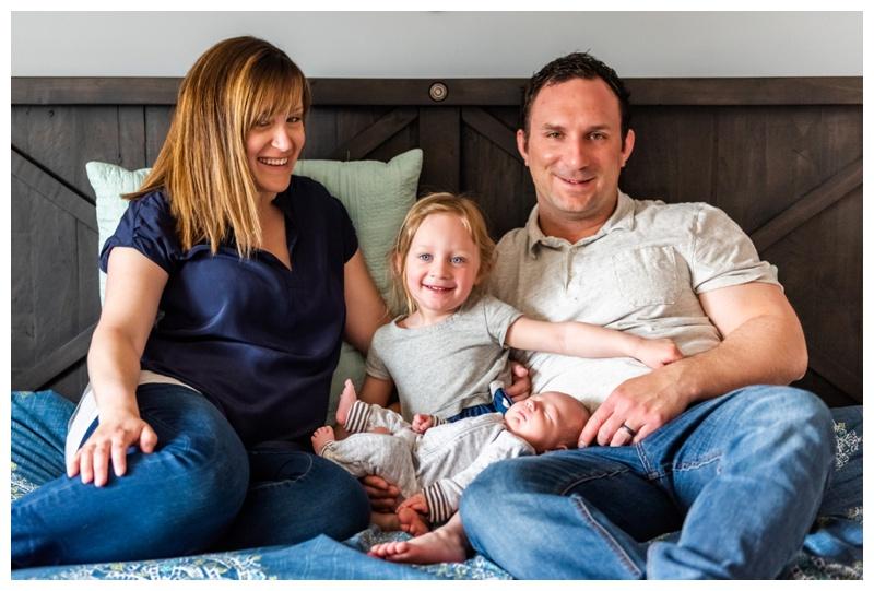 Calgary At Home Newborn Photography