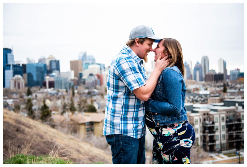 Calgary Couple Maternity Session