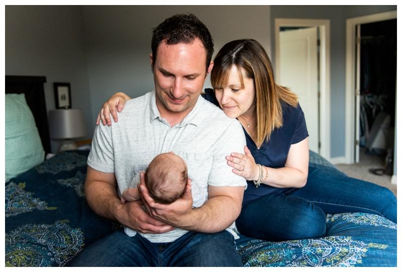 Calgary In Home Newborn Photograpers
