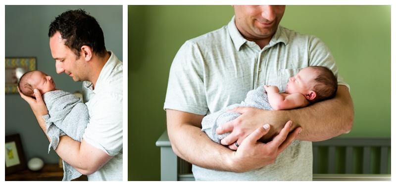 Calgary In Home Newborn Photography