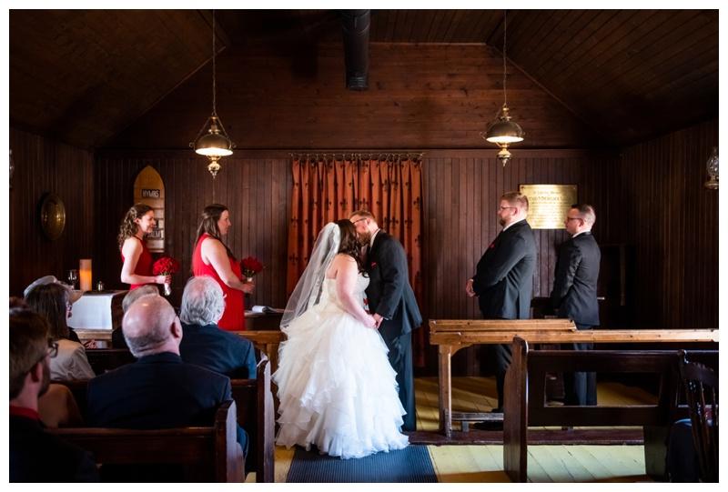 Calgary St Martins Church Heritage Park Wedding