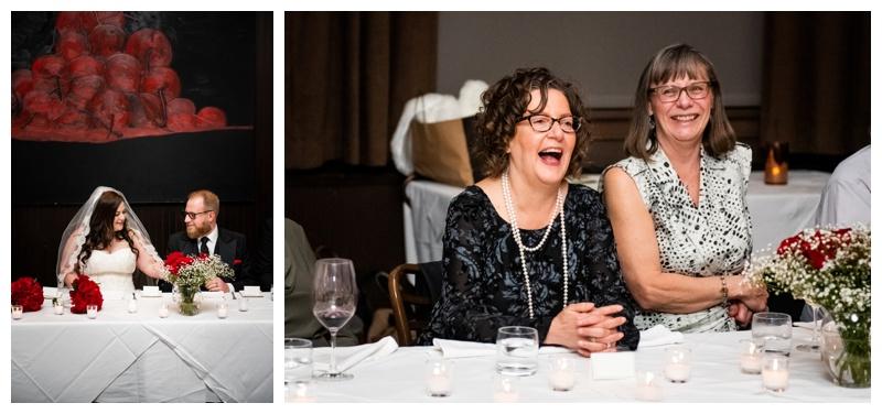 Calgary Teatro Restaurant Wedding Reception Photos