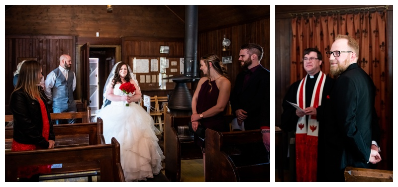 Heritage Park Church Wedding Ceremony