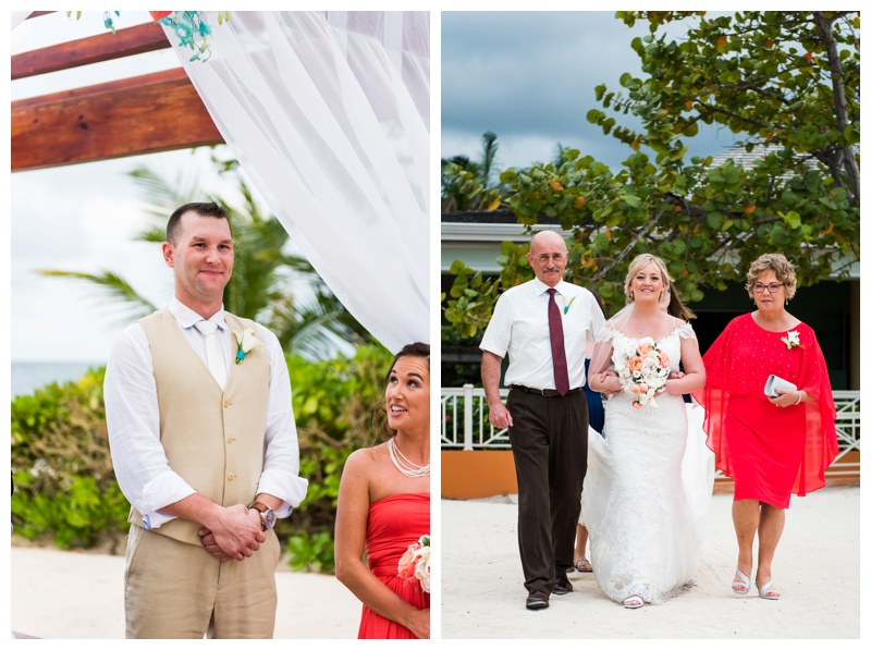 Jamaica Iberostar Wedding Ceremony Photographer