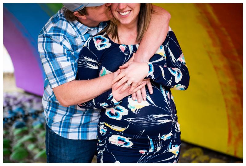 Rainbow Baby Maternity Photography Calgary