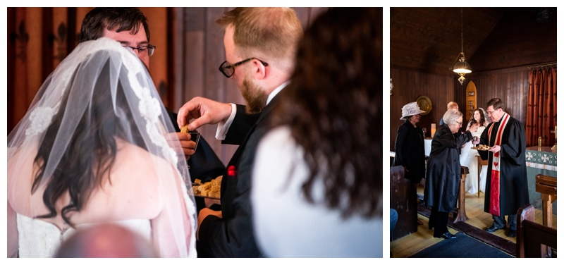 St Martins Church Calgary Wedding Ceremony