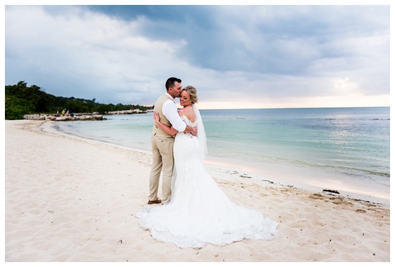 Sunset Beach Wedding - Iberostar Rose Hall Jamaica