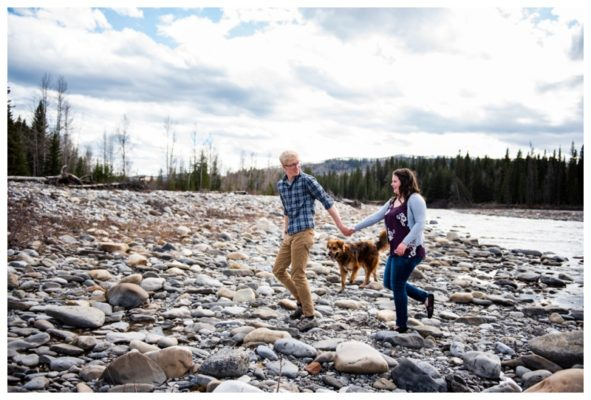 Bragg Creek Couple Session | Erik & Megan | Calgary Couple Photographer