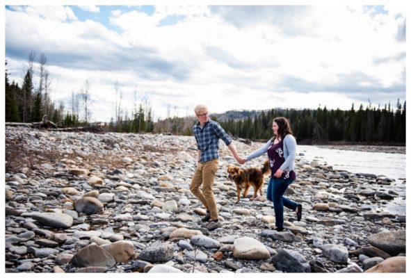 Bragg Creek Couple Session | Erik & Megan | Calgary Couple Photographer