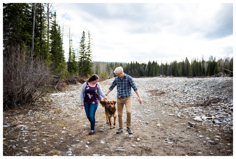 Bragg Creek Engagement Photography