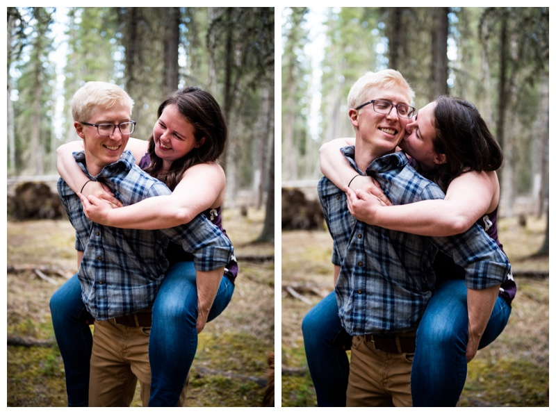 Bragg Creek Provincial Park Engagement Photographer