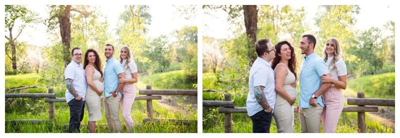 Calgary Pearce Estate Park Extended Family Photographer