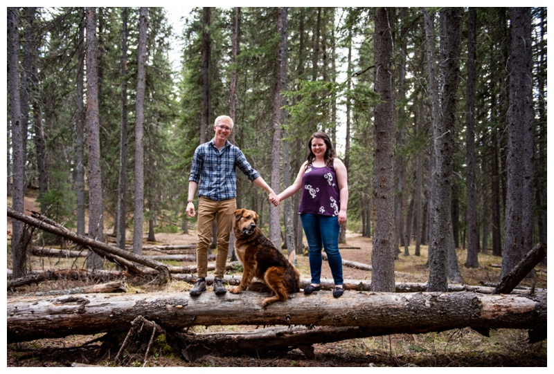 Bragg Creek Couple Session
