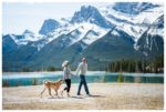 Mountain Dog Friendly Engagement Session | Hector & Lauren | Canmore Engagement Photographer
