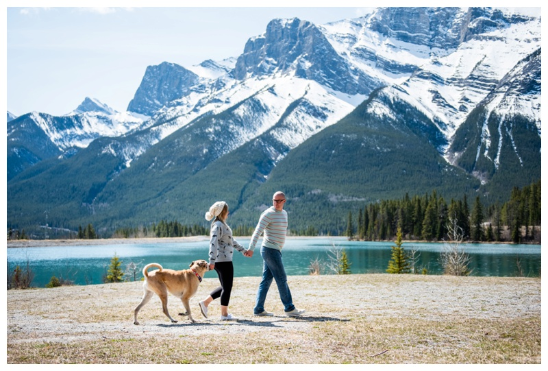 Dog Friendly Engagement Photographers Calgary