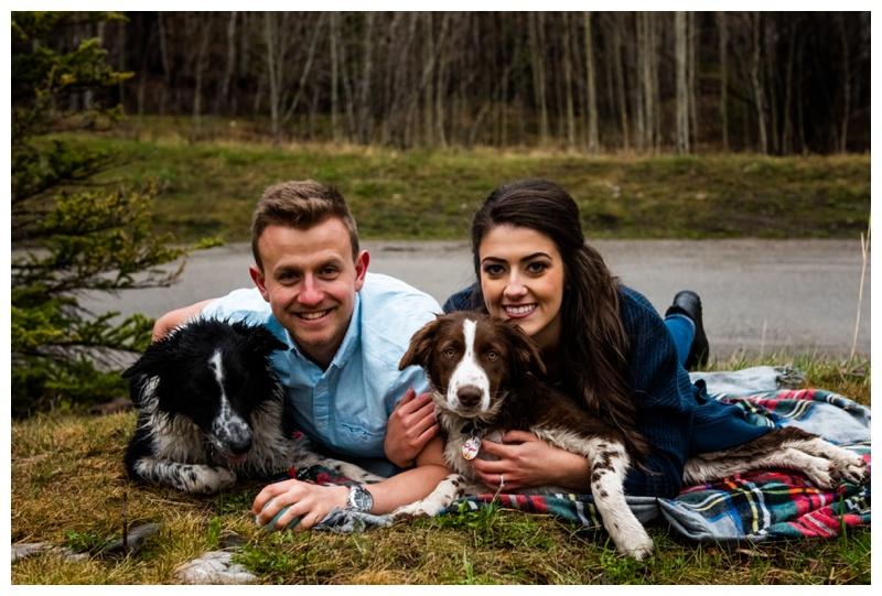 Dog Friendly Engagement Photography Calgary