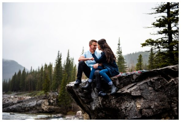Elbow Falls Engagement Photography Session | Dylan & Nicole | Calgary Engagement Photographer