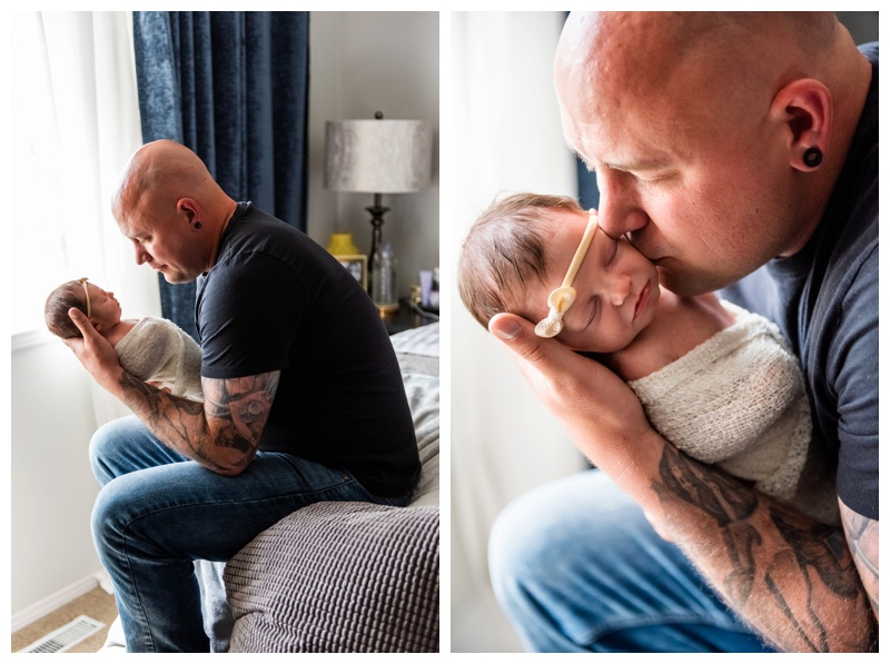 In Home Newborn Photographer Calgary Alberta