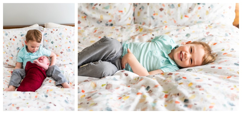 In Home Newborn Photographer Calgary