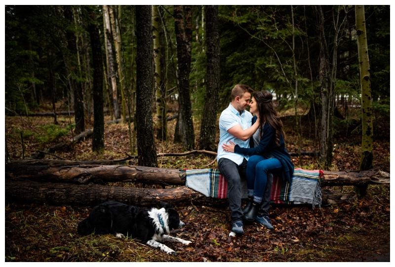 Kananaskis Engagement Photographers