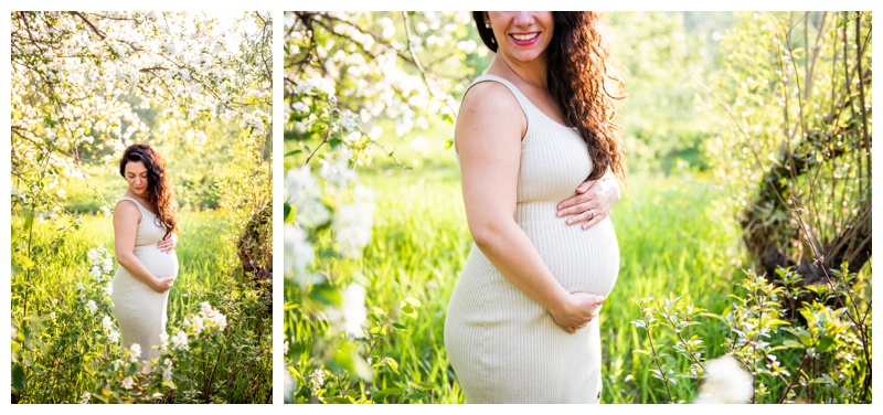 Pearce Estate Park Maternity Session Calgary
