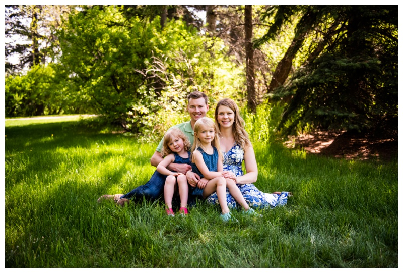 Calgary Baker Park Family Photographer