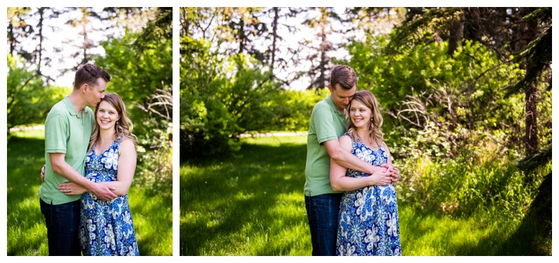 Calgary Baker Park Maternity Photos