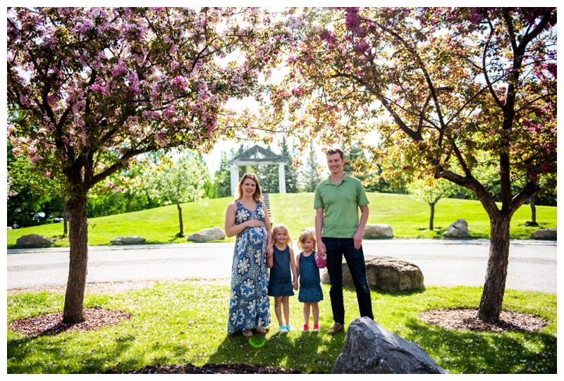 Calgary Cherry Blossom Family Session