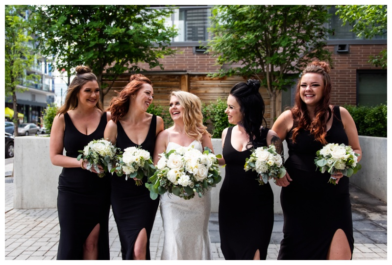 Calgary Wedding Photographer- Bridesmaid Photos