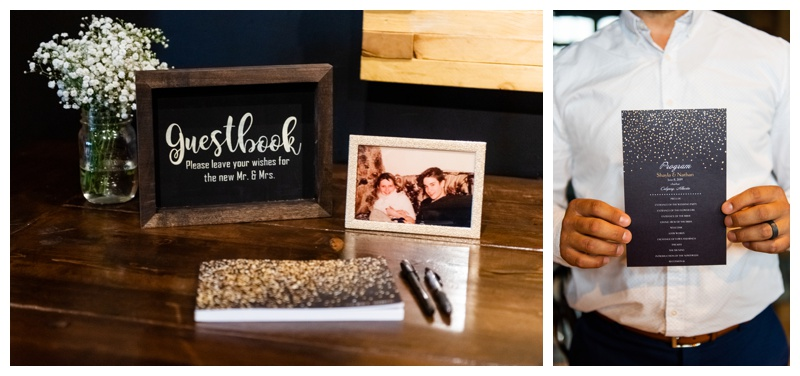 Calgary Wedding Photographer- Char Bar Restaurant Wedding Ceremony