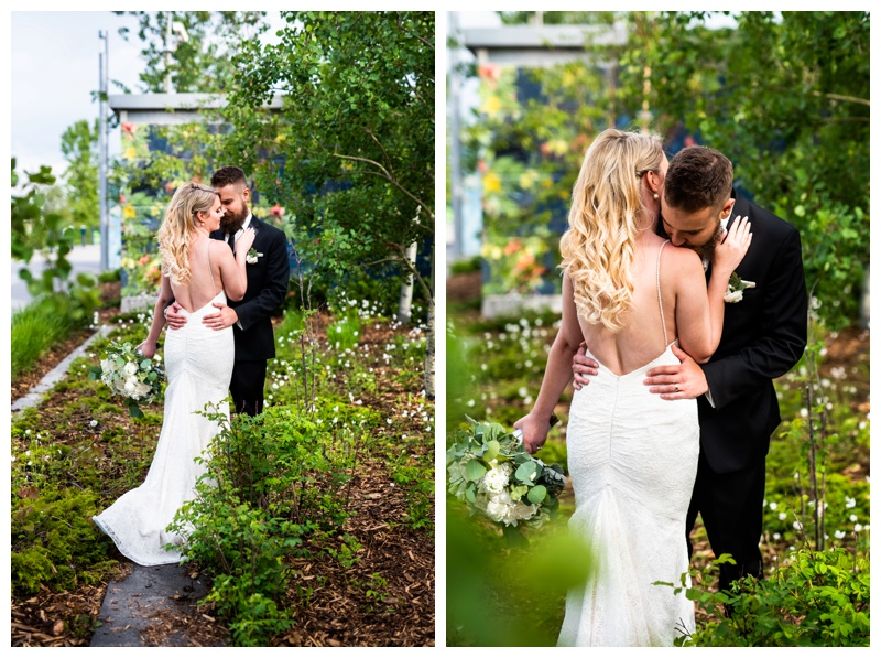 Calgary Wedding Photographer- East Village Bride & Groom Photography.