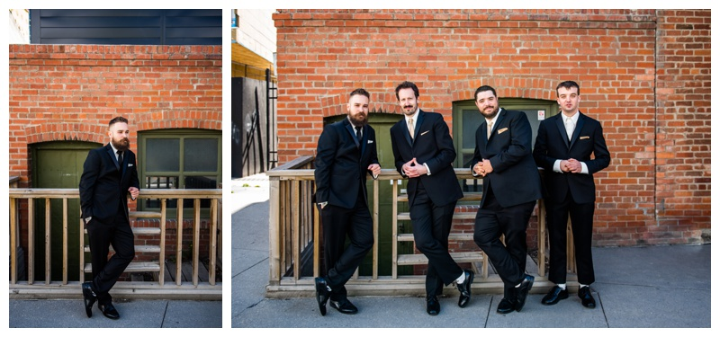 Calgary Wedding Photographer- Groom & Groomsmen Photography