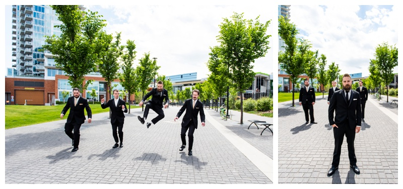 Calgary Wedding Photographers- Groomsmen Photography